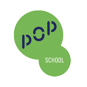Logo de Pop school