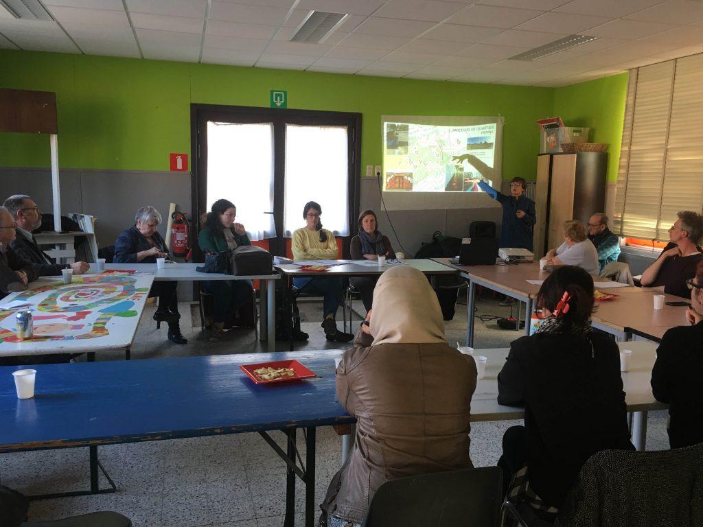 Présentation outils RHS au comité d'habitants d'Epinlieu