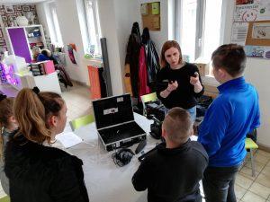Initiation vidéo à l'Espace Socioculturel Intercommunal Le PHARE