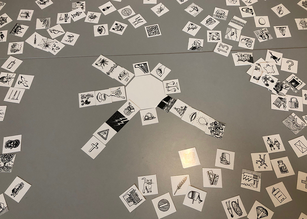 Récolte des données territoriales sensibles à l'aide du jeu Motus, par une habitante d'Epinlieu