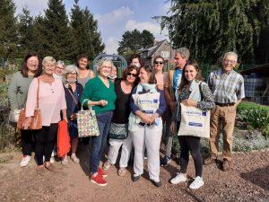 Read more about the article Le parcours des Floralies testé par les habitant.e.s de Brunehaut (Escautpont)
