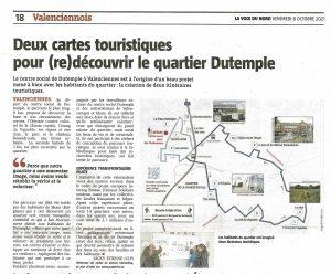 Read more about the article La Voix du Nord parle du projet Réseau Hainaut Solidaire !